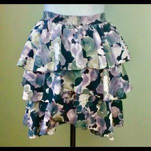BB Dakota Floral Skirt